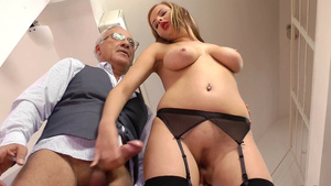 The Only Things that Matters for Young Slut is Solid Cock and Big Pension