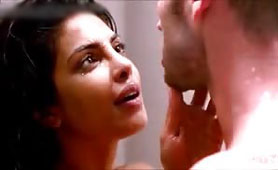 Hot Priyanka Chopra Erotic Scene During the Shower