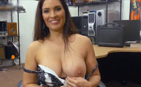 For a Thousand Bucks This Beautiful Busty Milf Will Do Anything