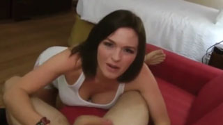 She Begs Her Stepson To Cum Inside Her