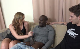 Guy Showed Her That the Story of Blacks Was True - Interracial Sex