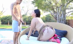 Pool Guy Is a Bad Worker, But Damn Good Fucker