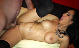Latina Stripper Makes Explosion of Cum from the Balls of the Customer