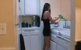 The Best Place to Fuck Stepmom Is in The Kitchen