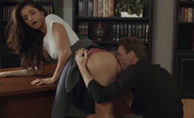 Two Hot Secretaries Shares Their Sex Experience Between Each Other