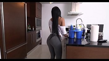 Housemaid Gets a White Dick As a Big Thank You for Cleaning