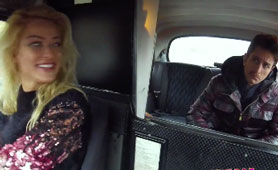 European Slut Drives a Taxi Just To be Fucked Multiple Times In a Day