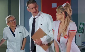 Both Nurses Want the Same Thing From Big Cock Doctor