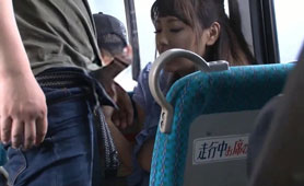 Busty Asian Office Lady Is Getting Fondled And Group Screwed On The Bus